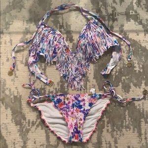 Luli Fama! My favorite bikini. Fringe. Like new